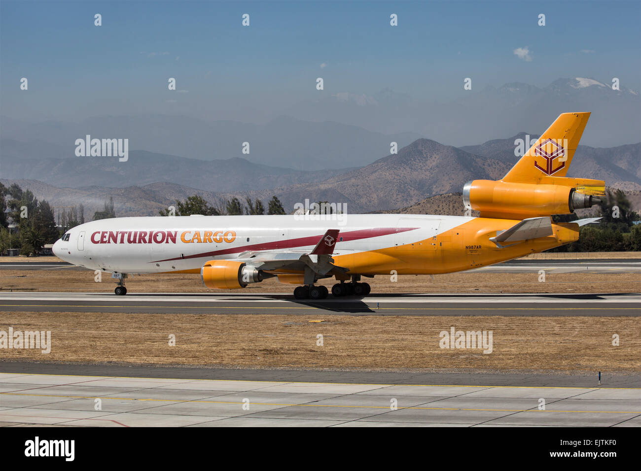 Centurion Air Cargo McDonnell Douglas MD-11 registered