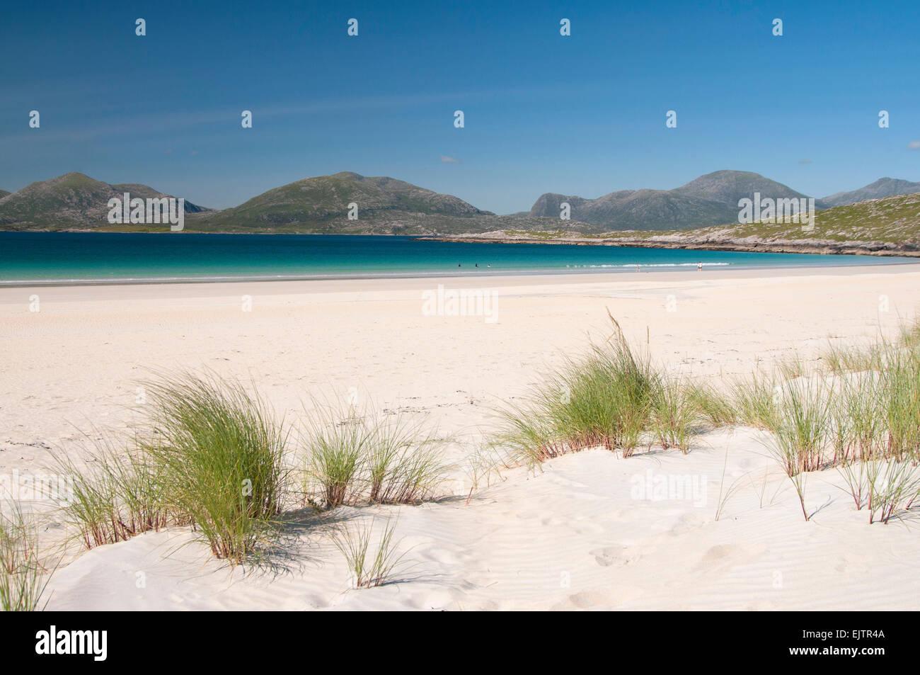 Luskentrye beach harris - Stock Image
