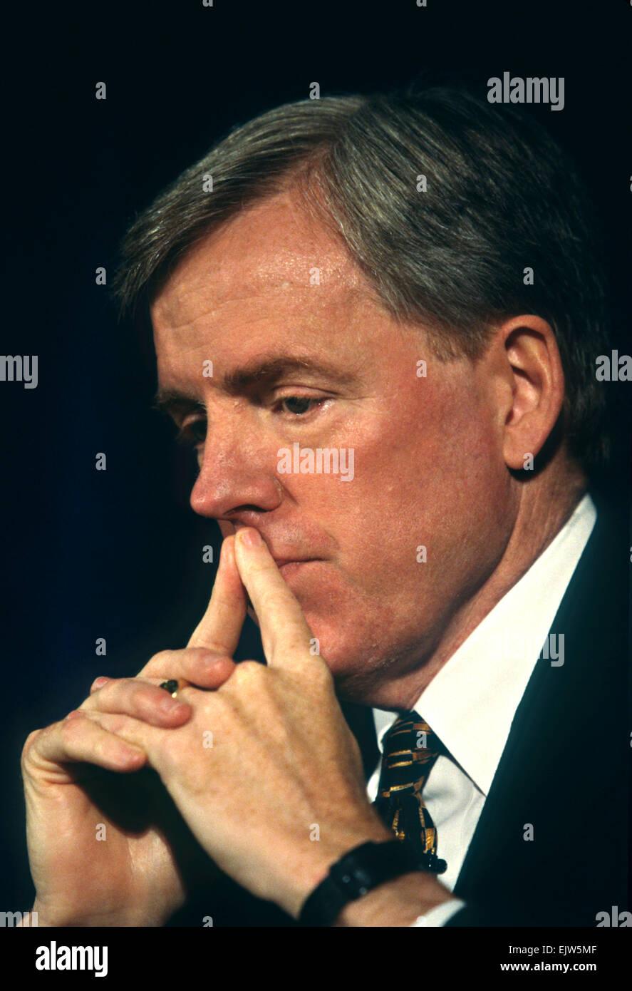Netscape CEO Jim Barksdale June 4, 1997 in Washington, DC. - Stock Image