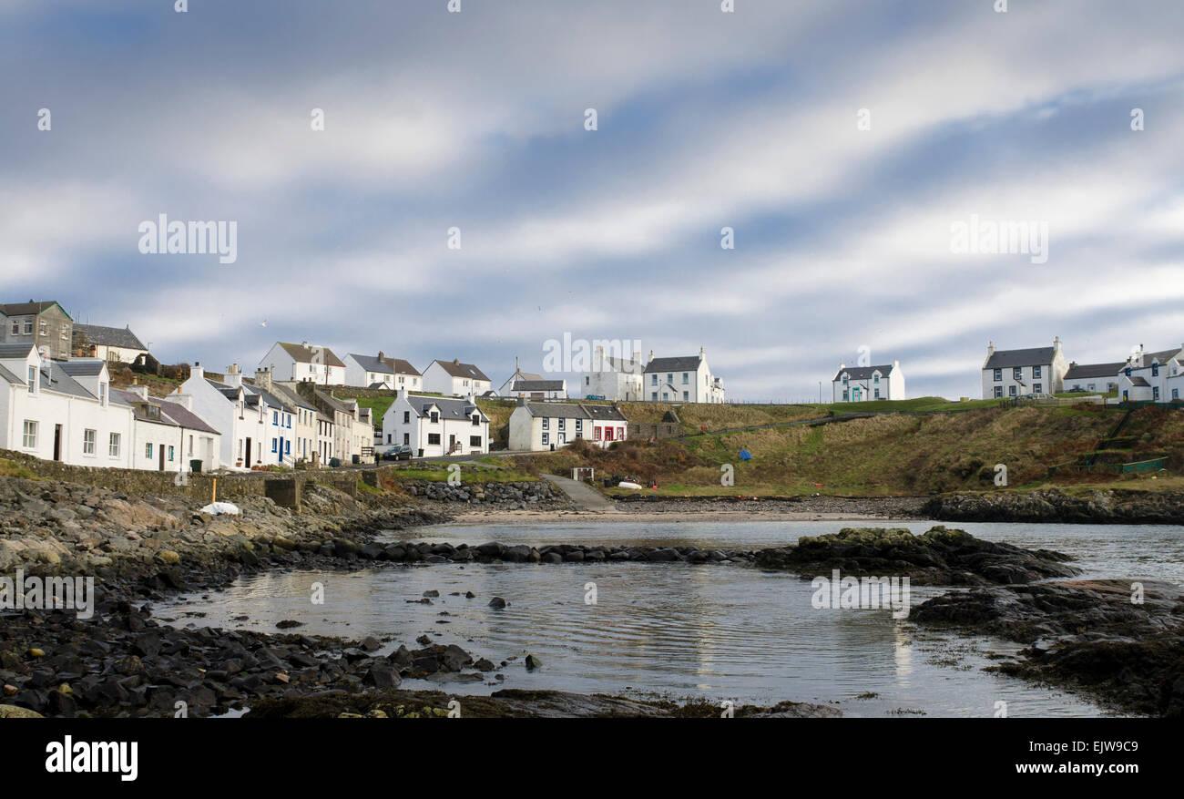 portnahaven isle of islay - Stock Image