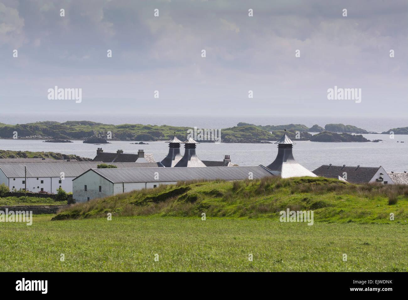 ardbeg distillery isle of islay - Stock Image