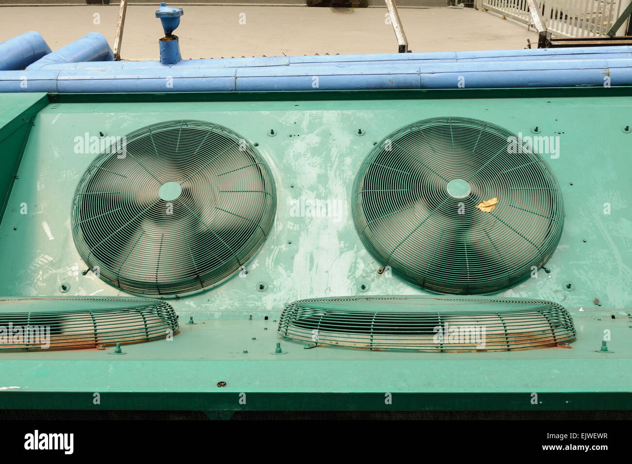 Air conditioning units, Singapore. - Stock Image