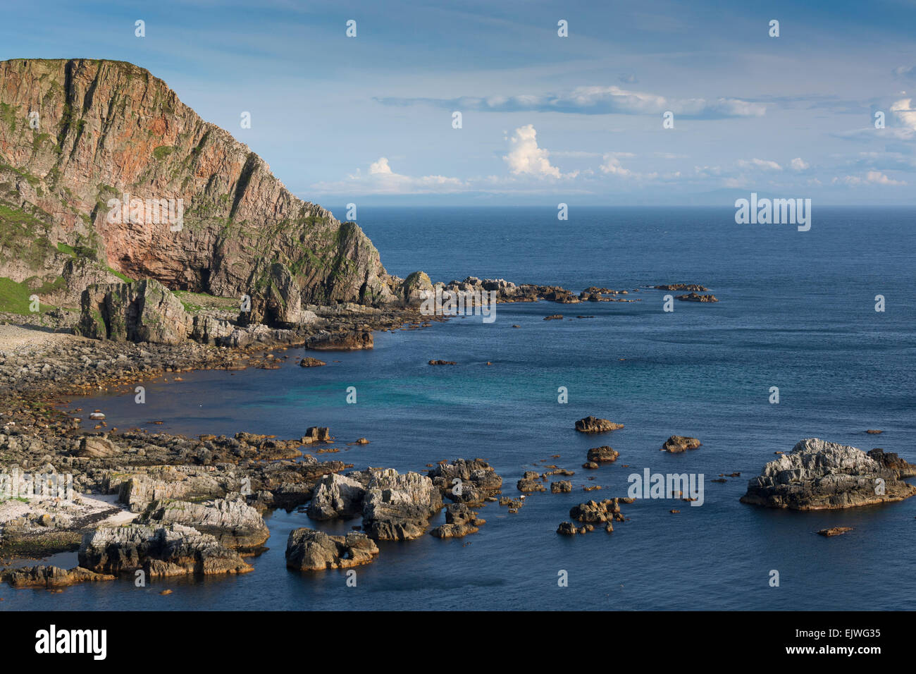 mull of oa cliffs nature reserve - Stock Image