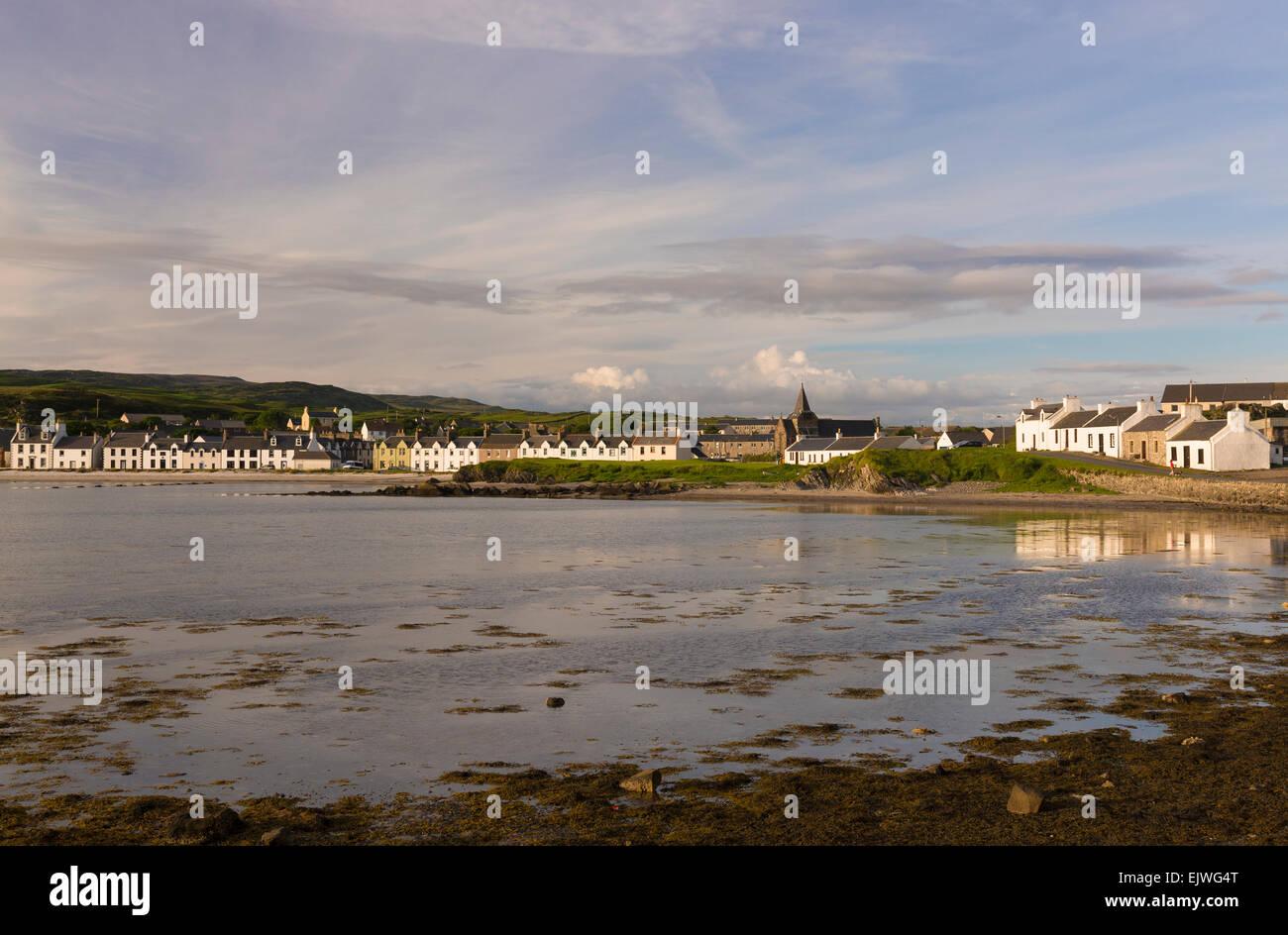 port ellen bay islay - Stock Image