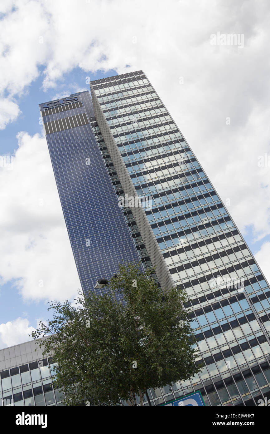 The Co-operative insurance Society (CIS) Tower is an office skyscraper built in 1962, situated on Miller Street - Stock Image