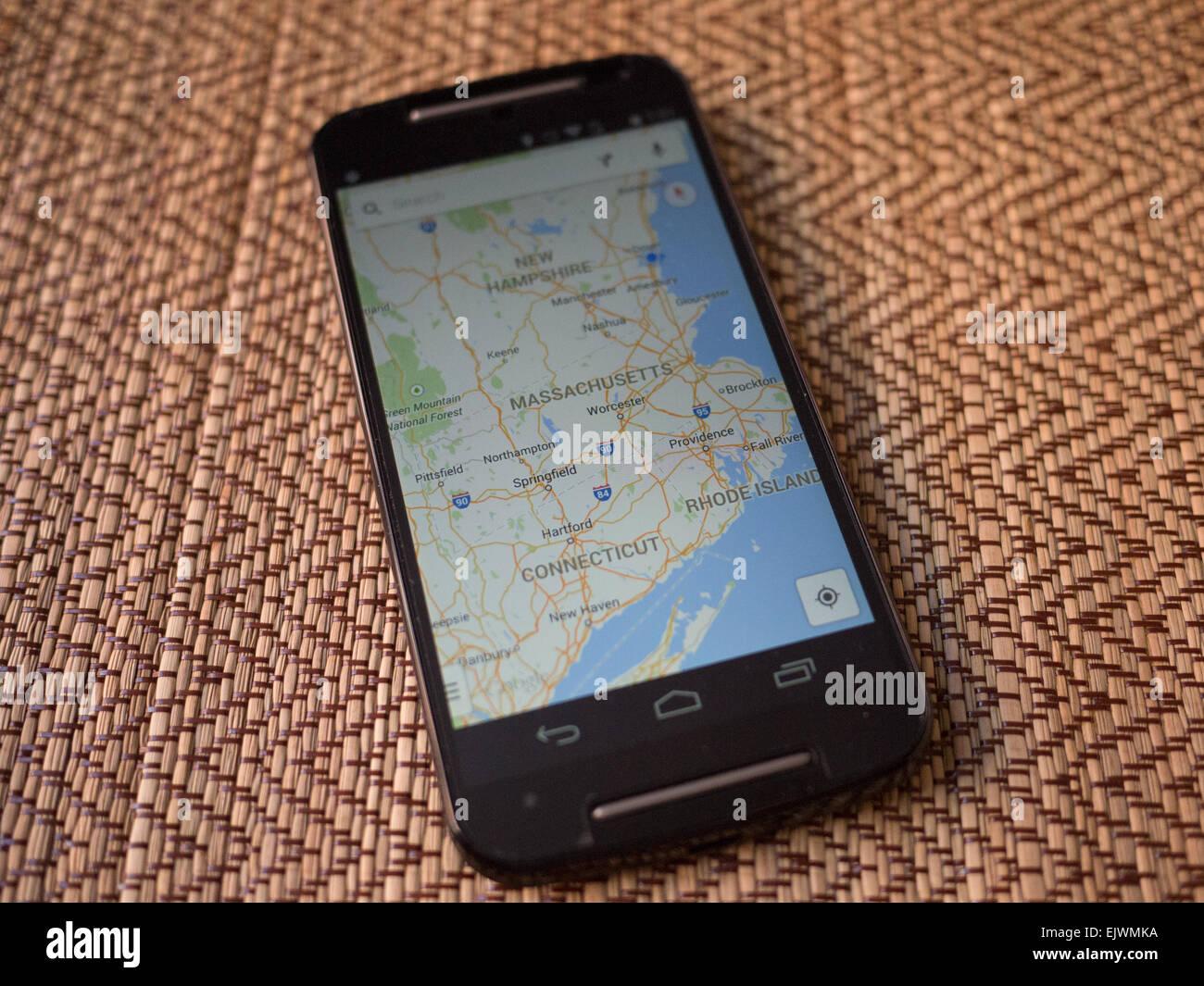 Google Map Stock Photos & Google Map Stock Images - Alamy