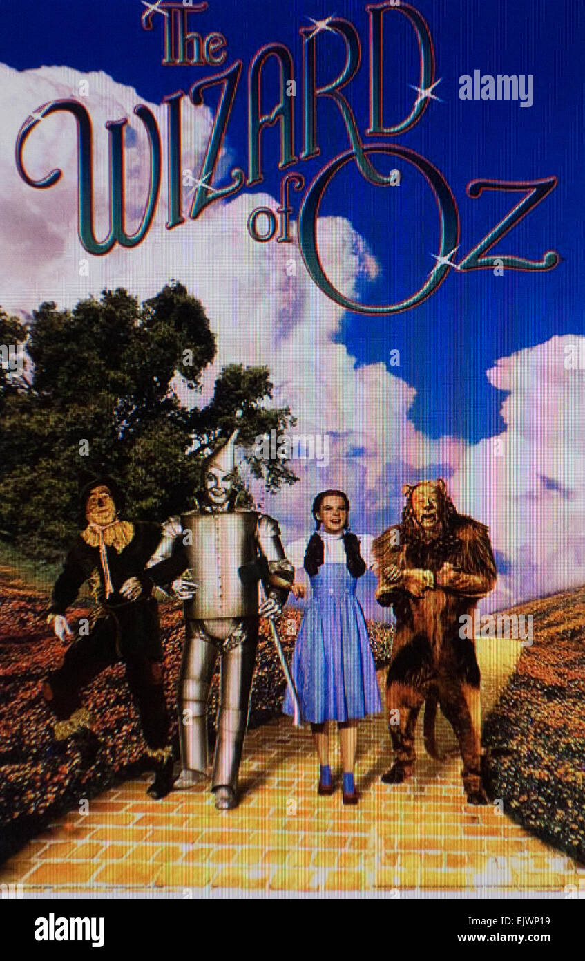 'WIZARD OF OZ' movie poster - Stock Image