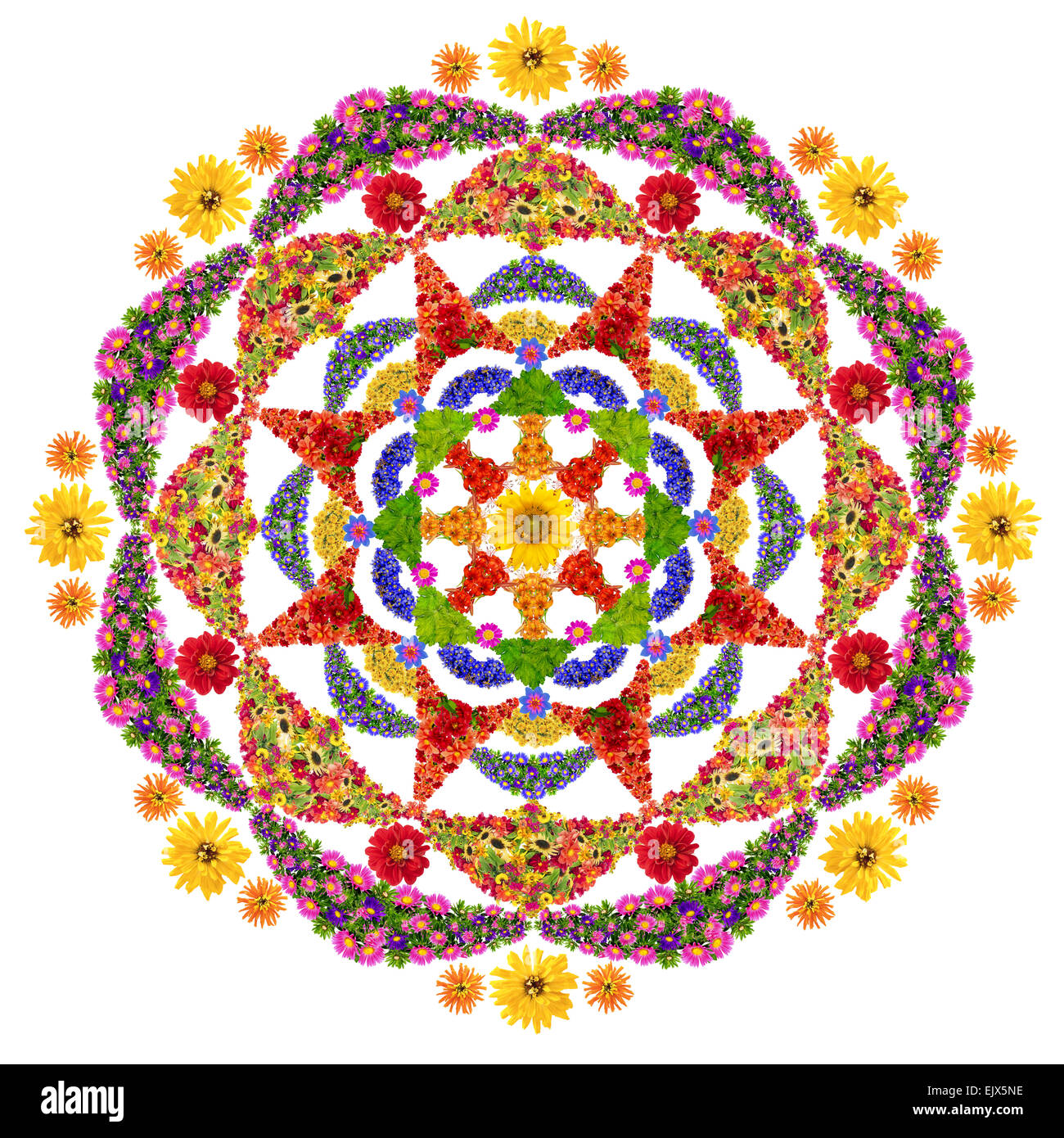 Good Luck And Happiness Mandala Spiritual And Ritual Symbol In