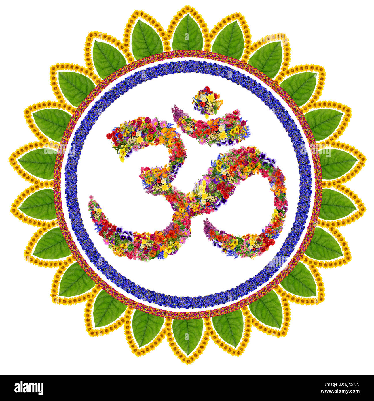 Isolated Om Sanskrit Symbol In Buddhism Made With Love From Stock