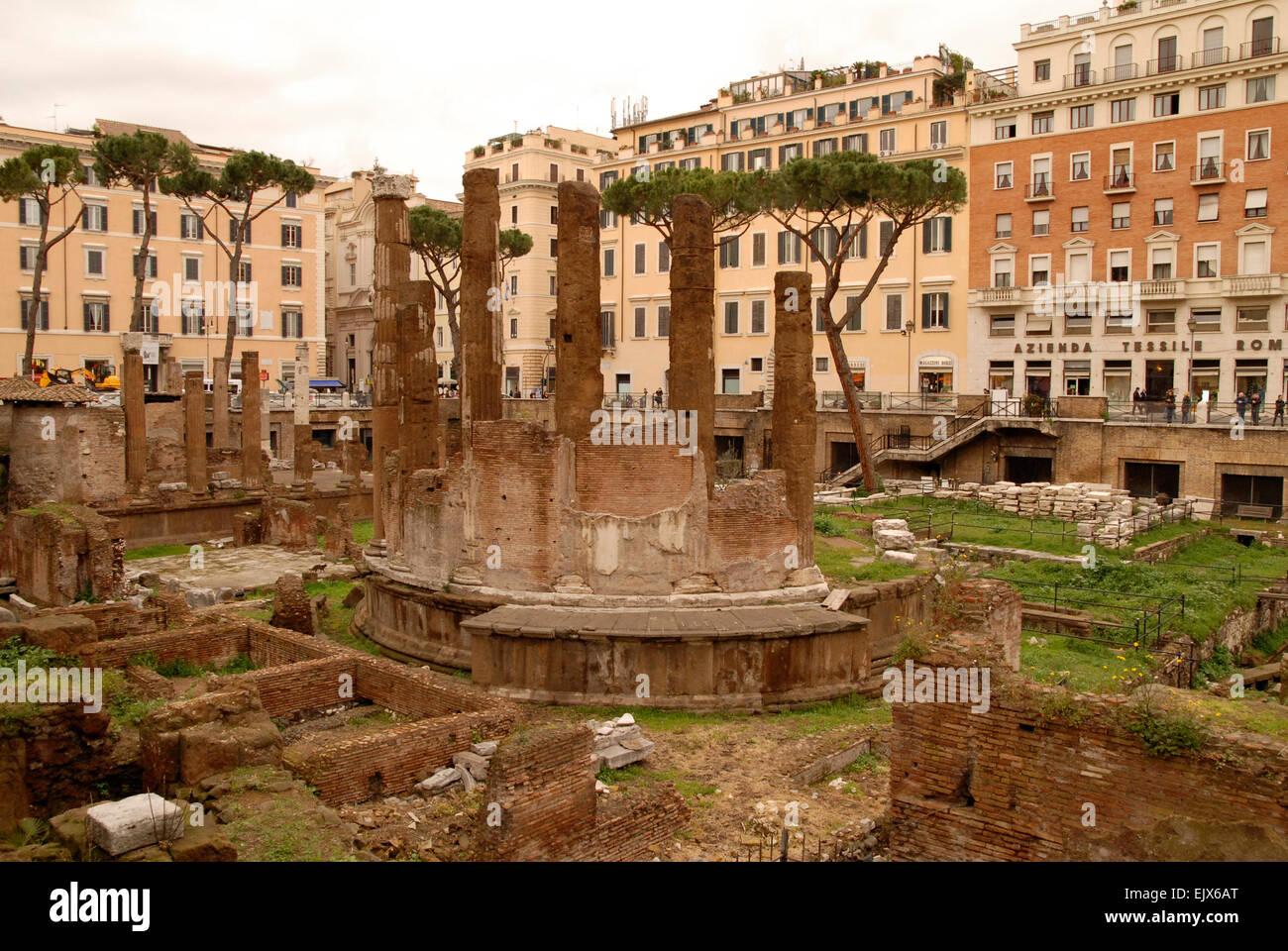 Aria Sacra, Rome, general view. - Stock Image
