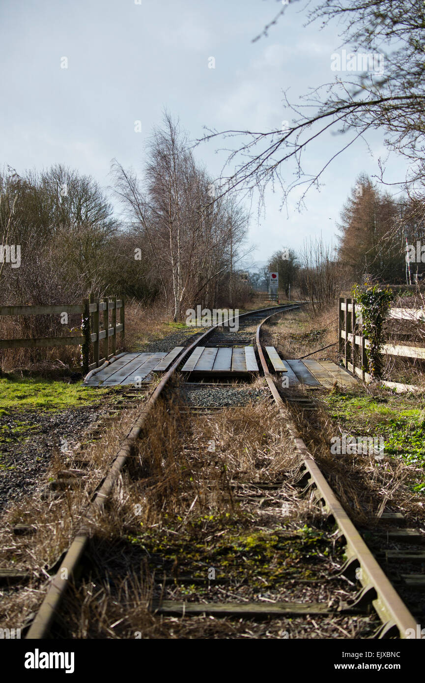 Cambrian Heritage Railways Project Disused Railway Line