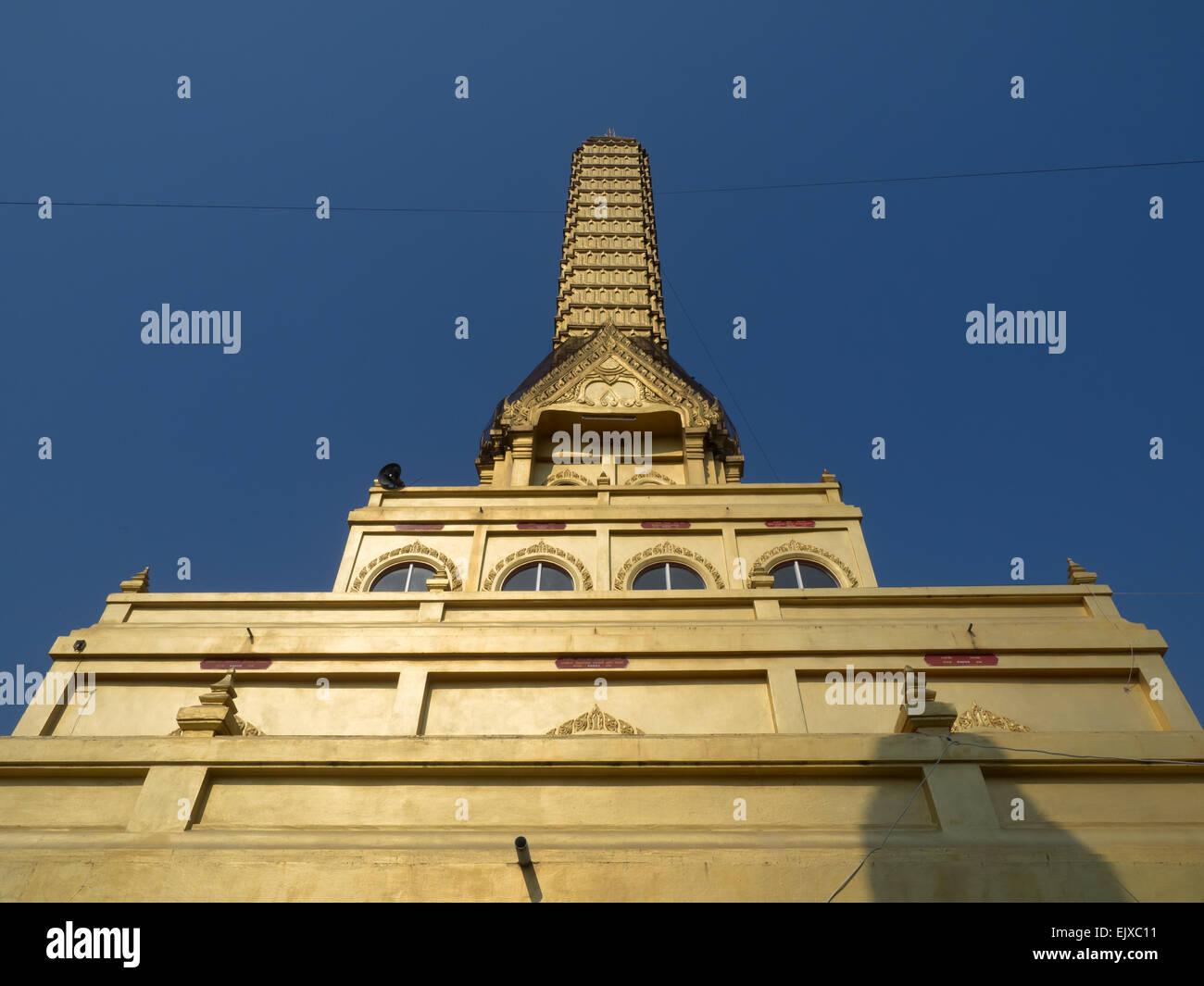 Wat Phra Prang, Sing Buri, Thailand - Stock Image