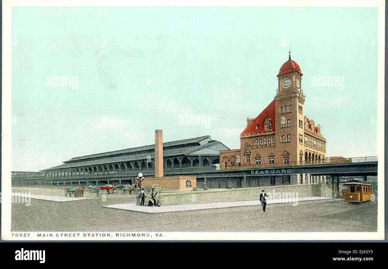 Main Street Station, Richmond, Va - Stock Image