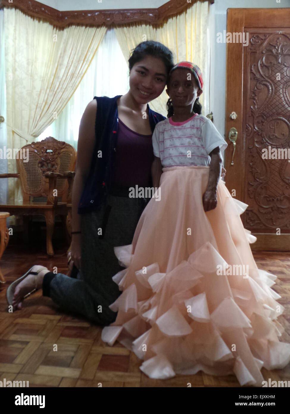 Bulacan Philippines 2nd April 2015 Young Fashion Designer Amiel Stock Photo Alamy