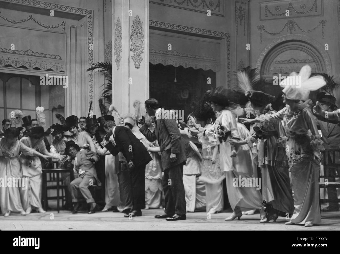 Scene from the play The Girl from Utah. 20 October 1913. - Stock Image