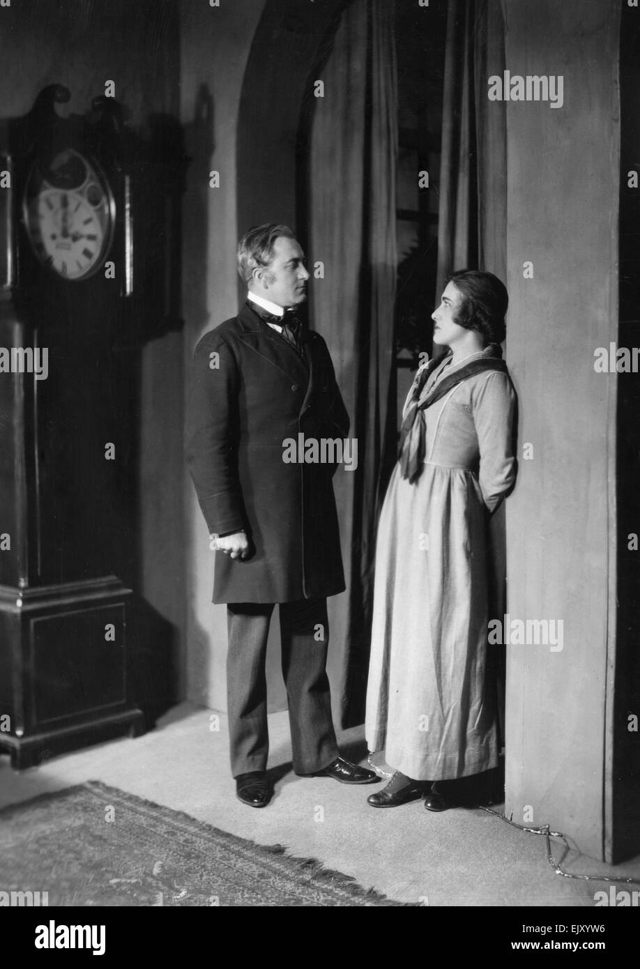 Scene from the play The Pillars of Society. 20 August 1926. - Stock Image