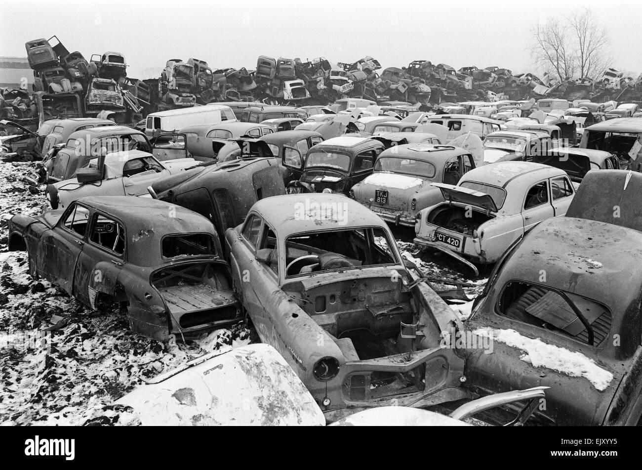 Jones Brothers, scrap metal dealers. c.1960 - Stock Image