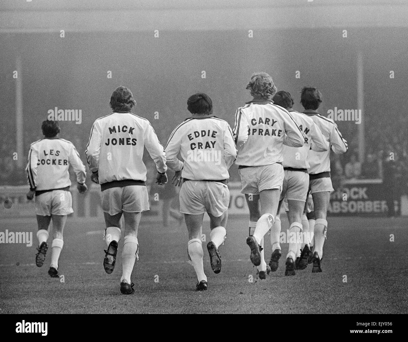 Leeds United Black And White Stock Photos Images Alamy