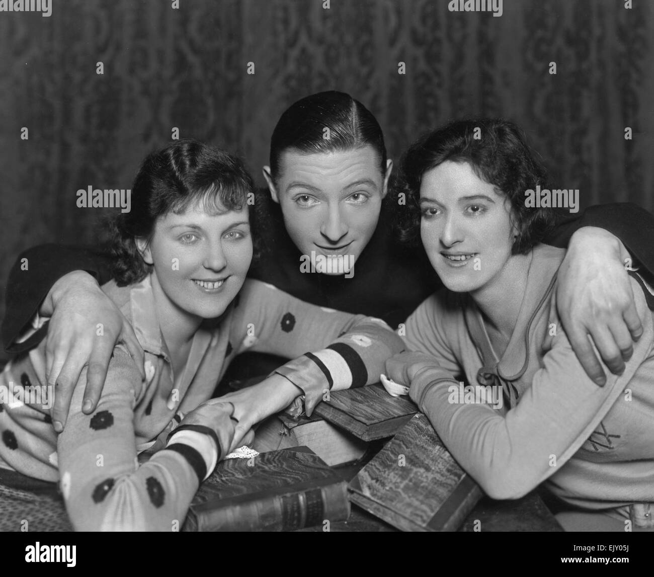 Scene from the play The Private Secretary. 20 February 1930. - Stock Image