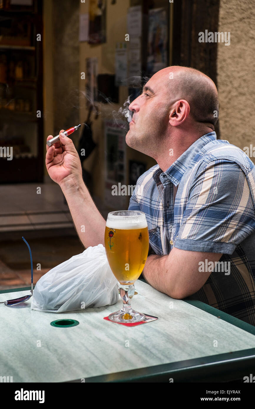 electronic cigarette - Stock Image