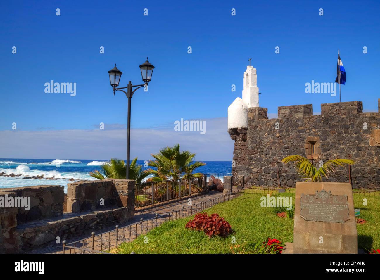 Garachico, Tenerife, Canary Islands, Spain - Stock Image