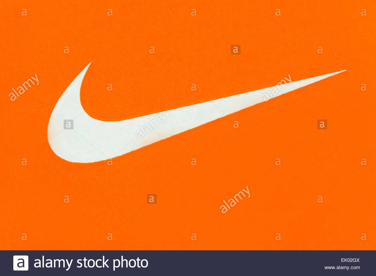 Nike Logo Stock Photos Nike Logo Stock Images Alamy