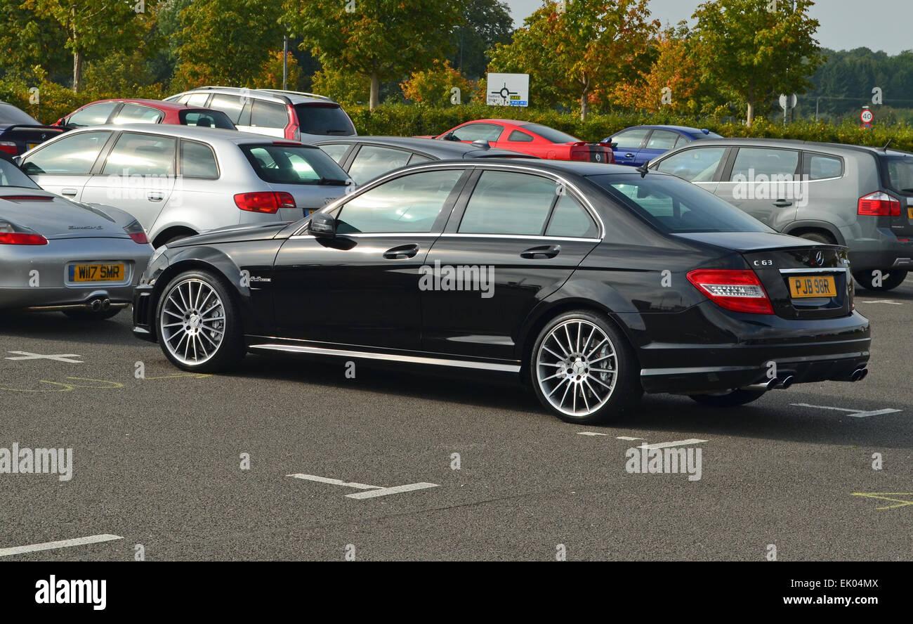 Mercedes Benz C63 Amg Stock Photos & Mercedes Benz C63 Amg