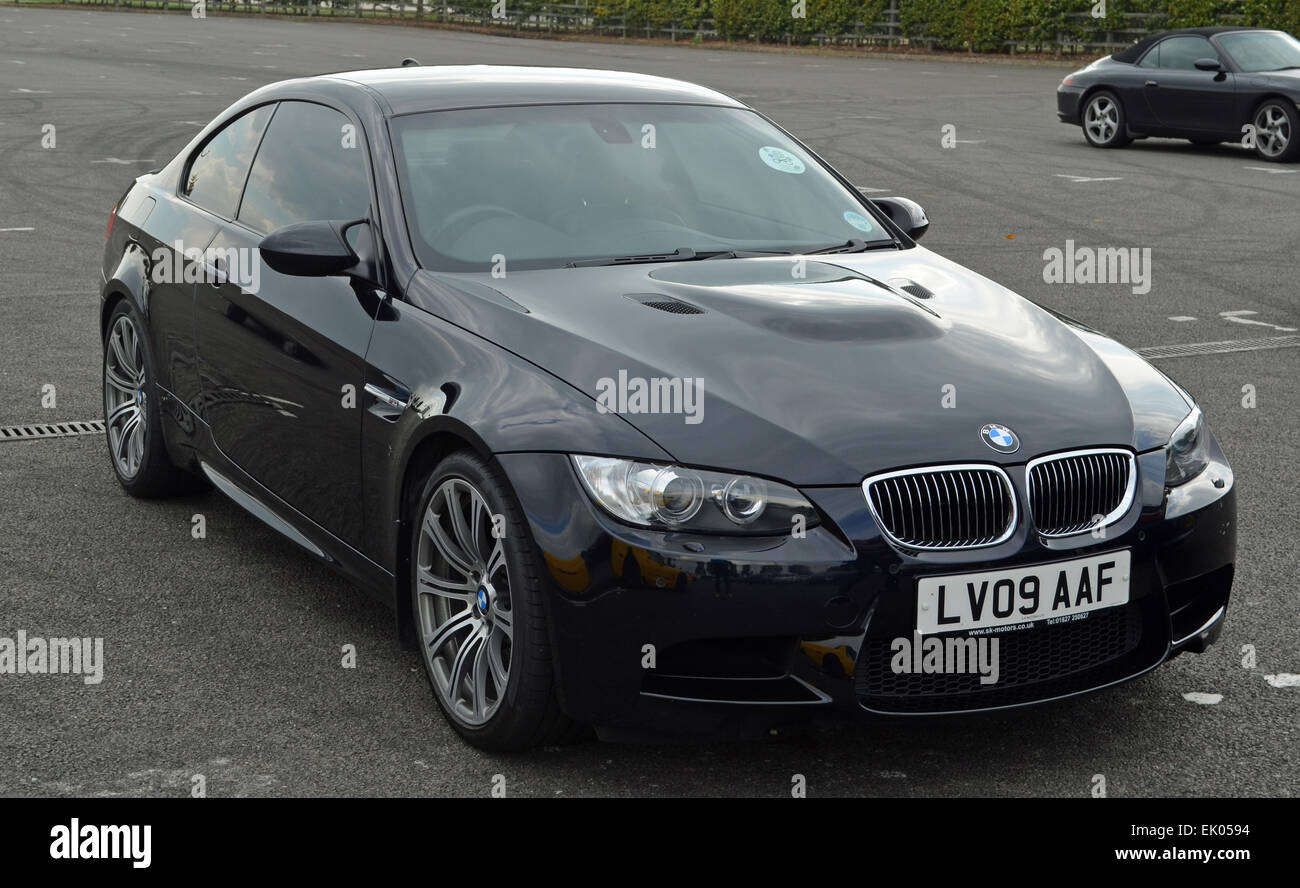 2009 Black BMW M3 E92 Coupe   Stock Image