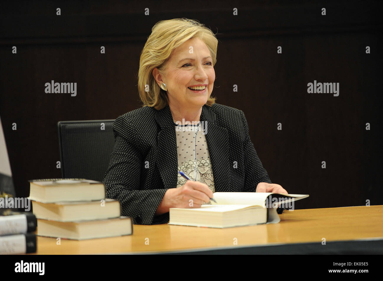 Hillary Clinton S Book Signing For Hard Choices At Barnes Noble