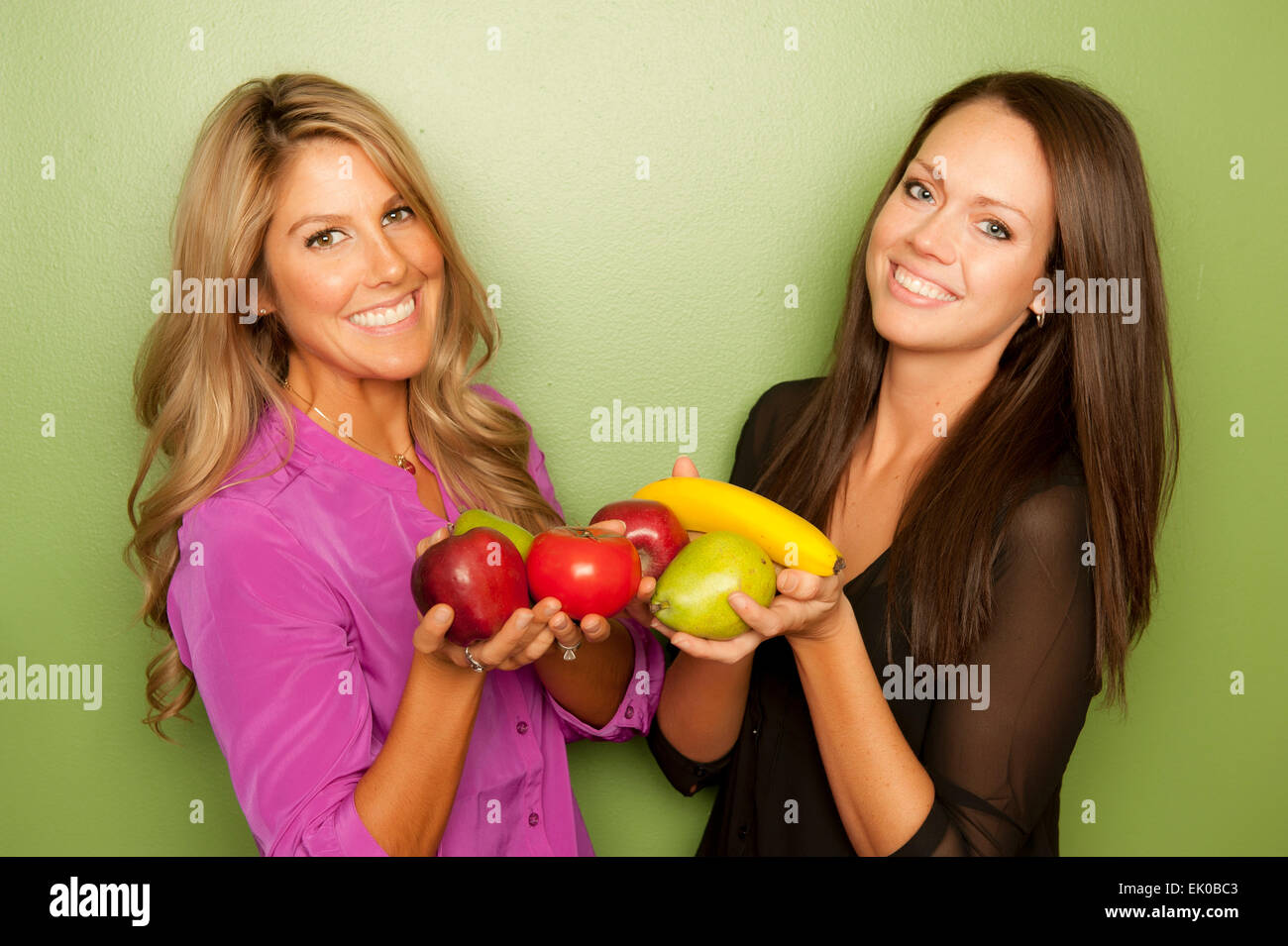 Female Nutritionists Stock Photo