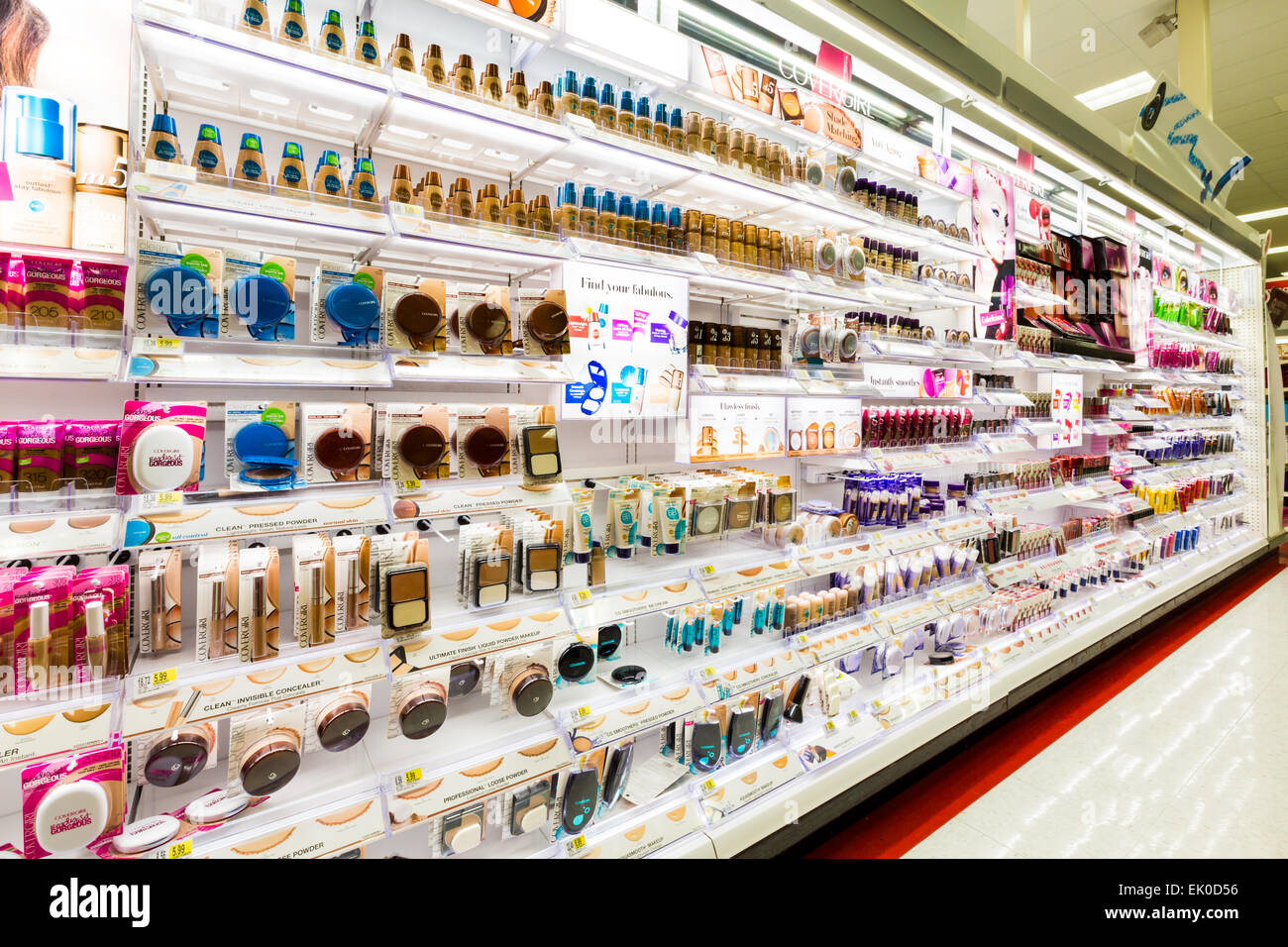 Cosmetics Department Stock Photos & Cosmetics Department