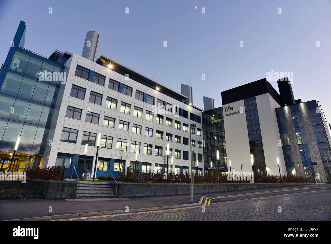 Dundee University School of Life Sciences, Discovery Centre for Translational and Interdisciplinary Research Dundee - Stock Image