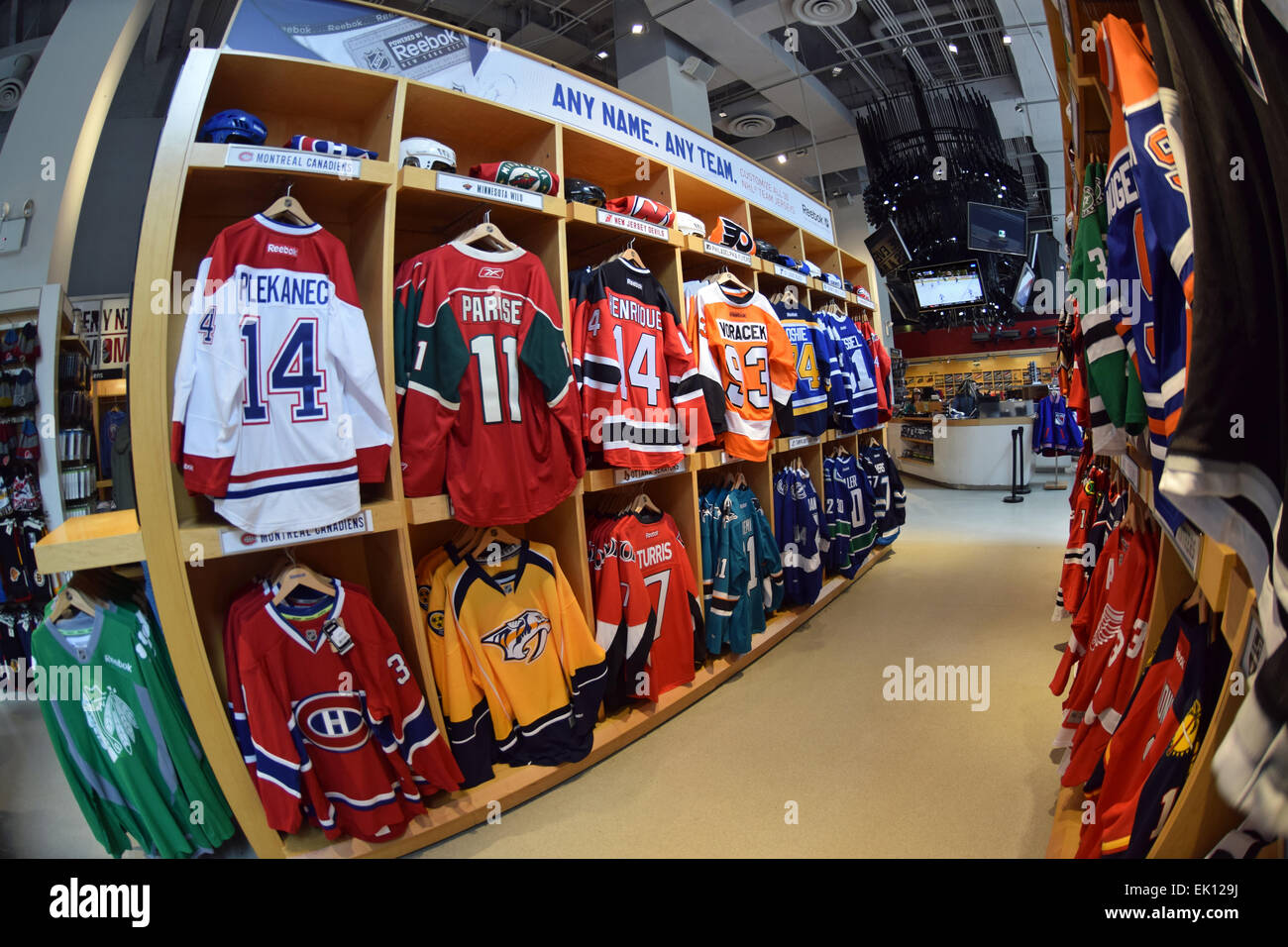 The For Of 80543726 Nhl Stock On Sweaters - Avenue Sale At Hockey Players Photo Alamy Store