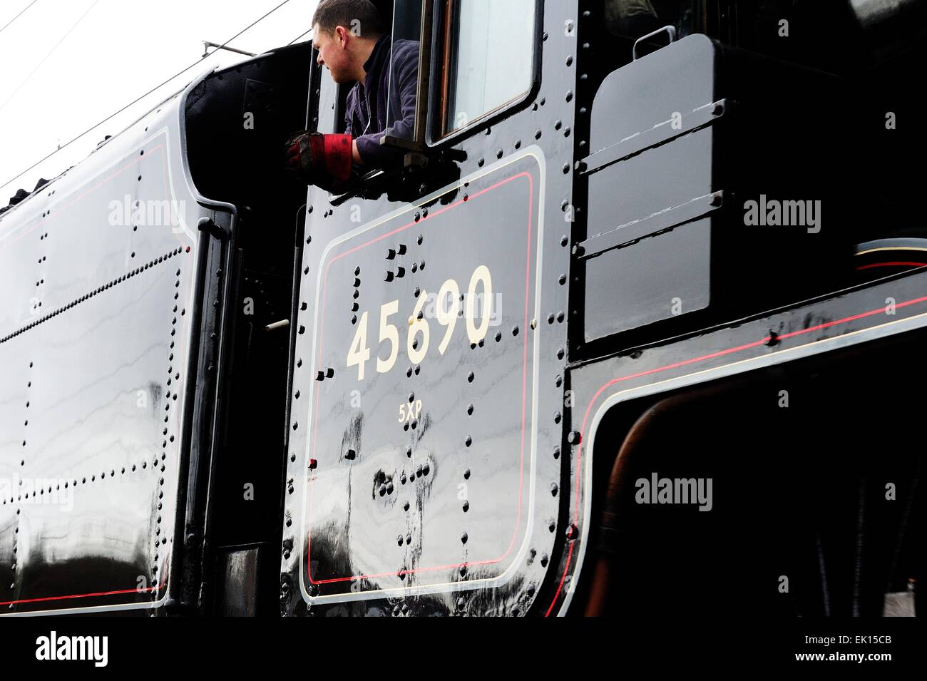 45690 Duchess of Sutherland - Stock Image