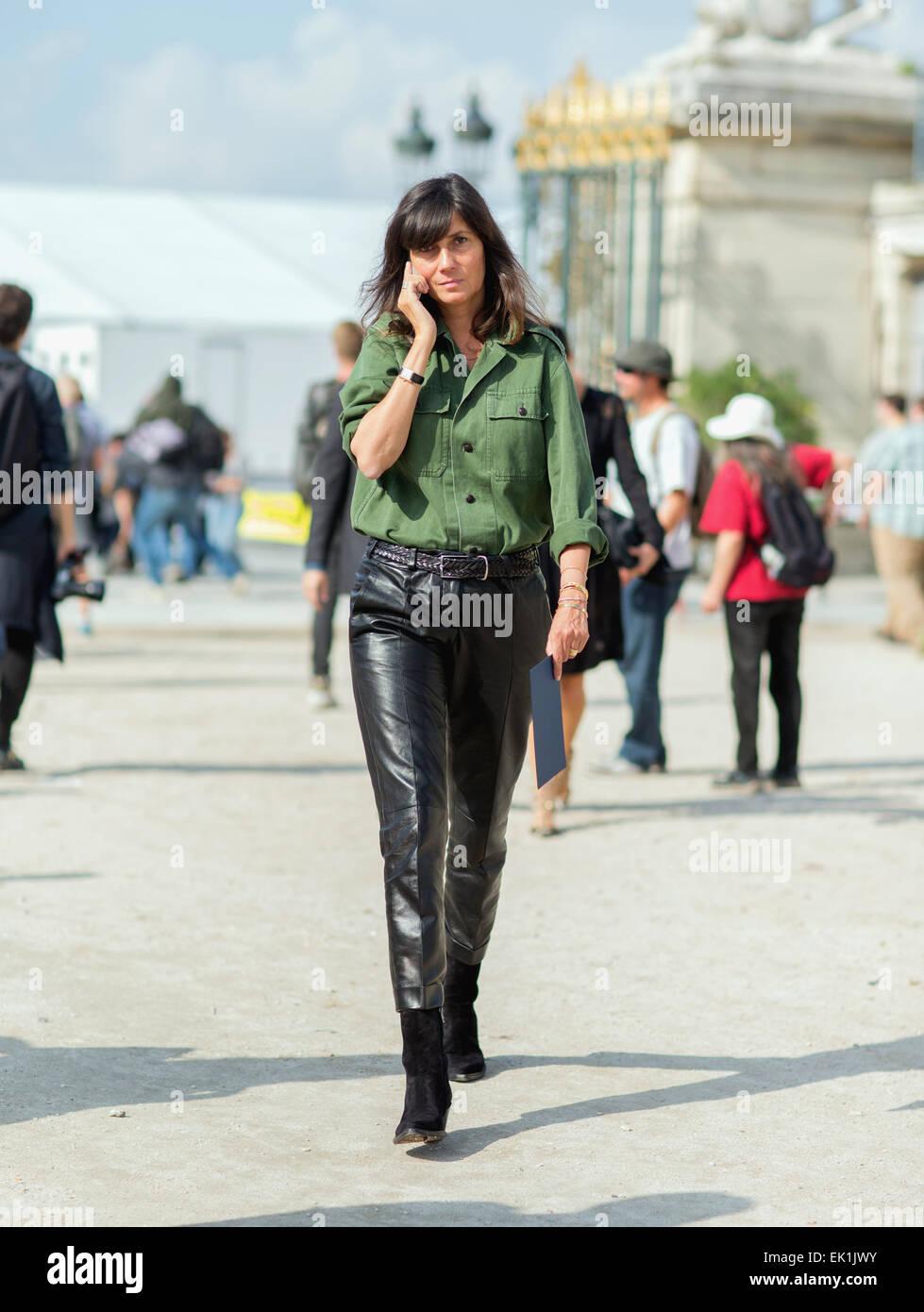 Emmanuelle Alt Style Stock Photos & Emmanuelle Alt Style ...