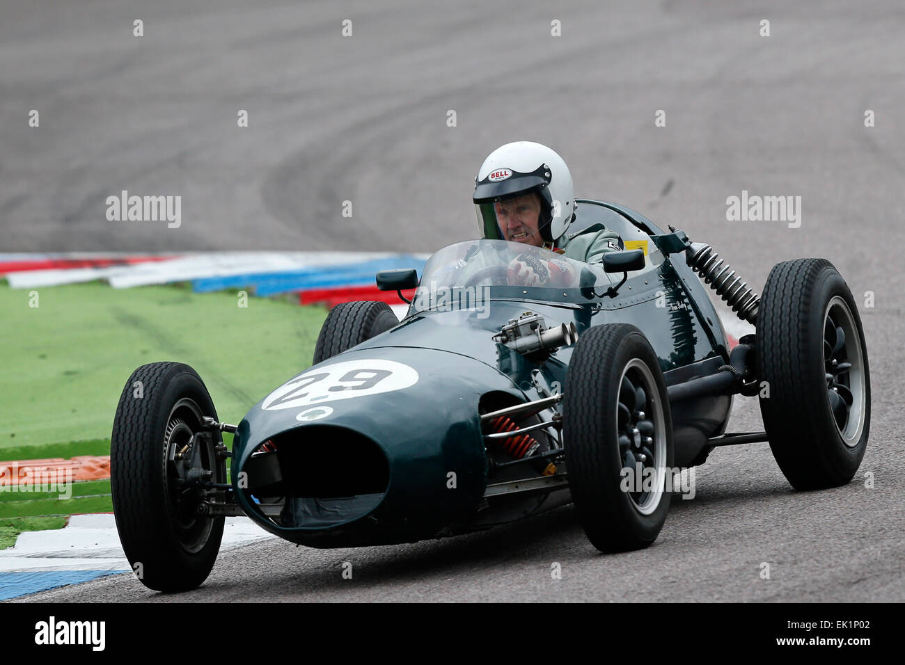 Classic Racing Cars Are Seen During The Historic Motor Racing Easter Stock Photo Alamy