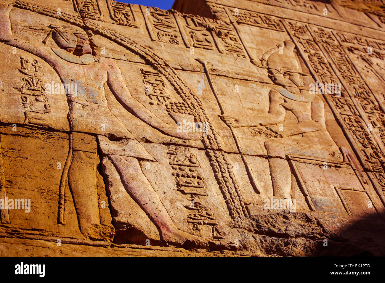 Upper Egypt   west bank, Luxor, Egypt, Africa - Stock Image