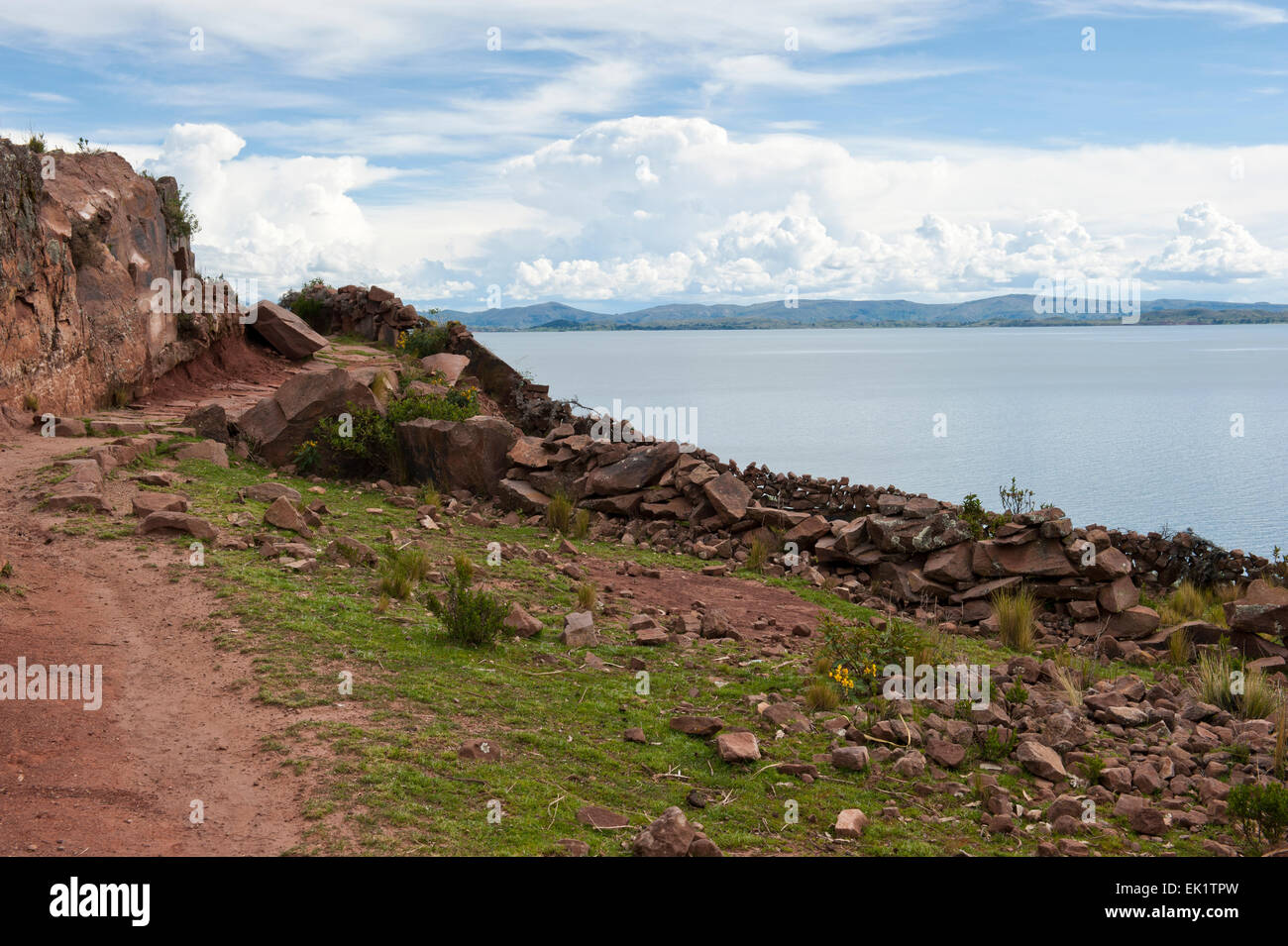 Peruvian Landscape Stock Photo