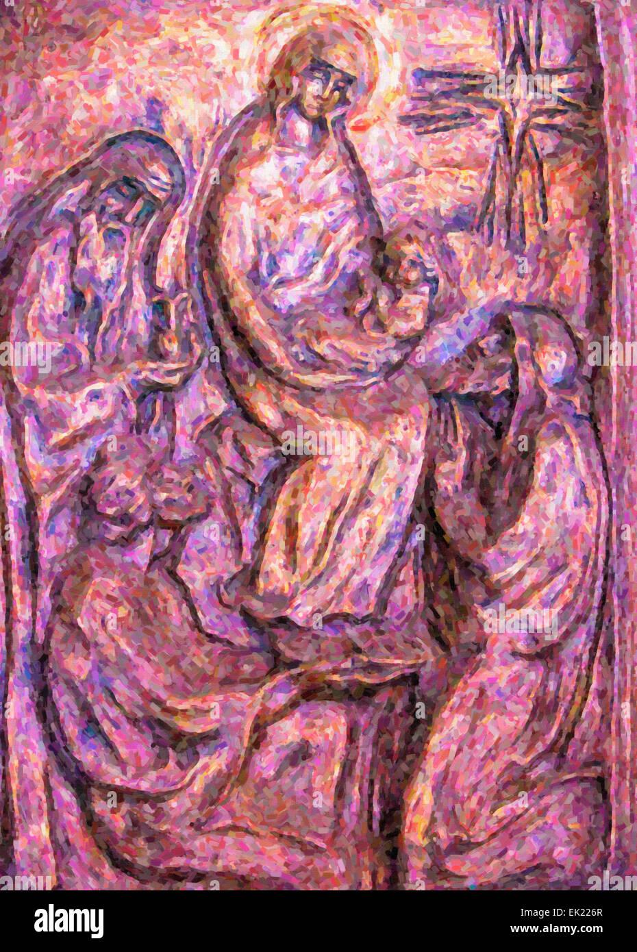 Birth Of Jesus Christ Stock Photos & Birth Of Jesus Christ Stock ...
