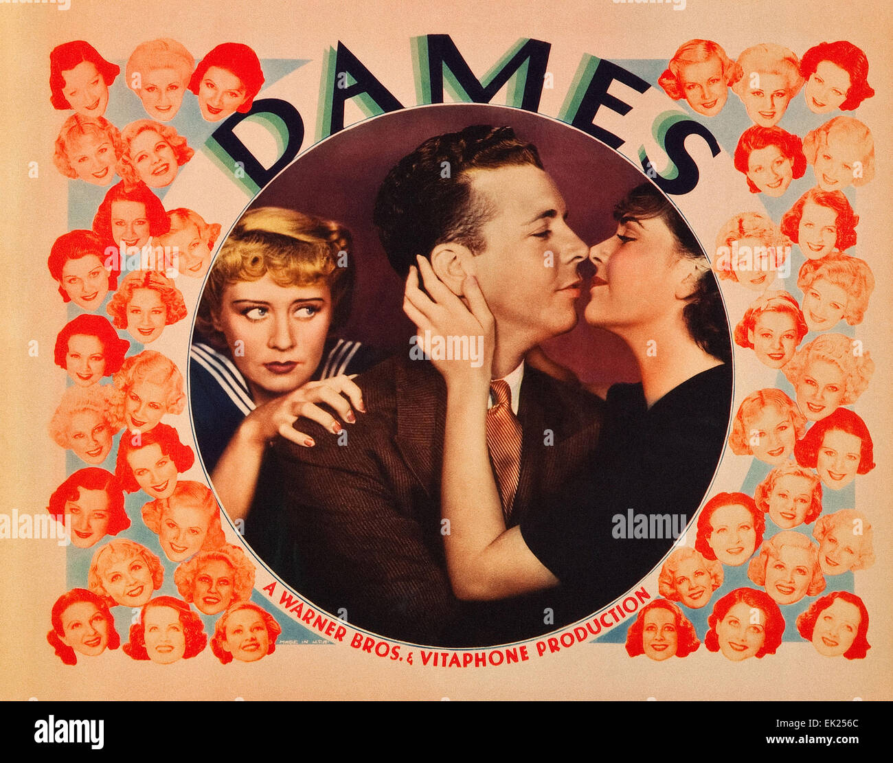Dames Movie Poster Stock Photo 80567940 Alamy