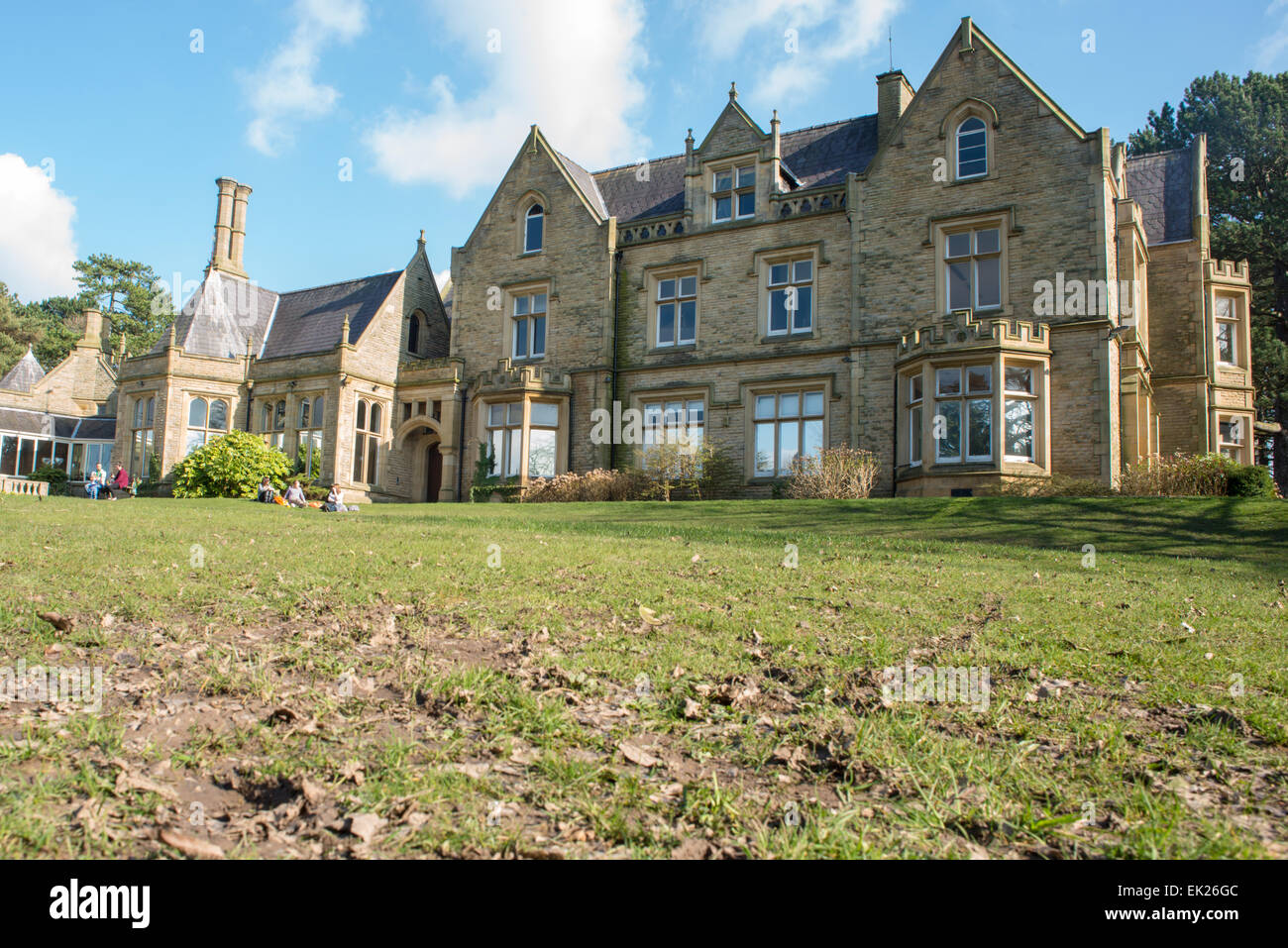Bruntwood Hall, Cheadle, Cheshire - Stock Image