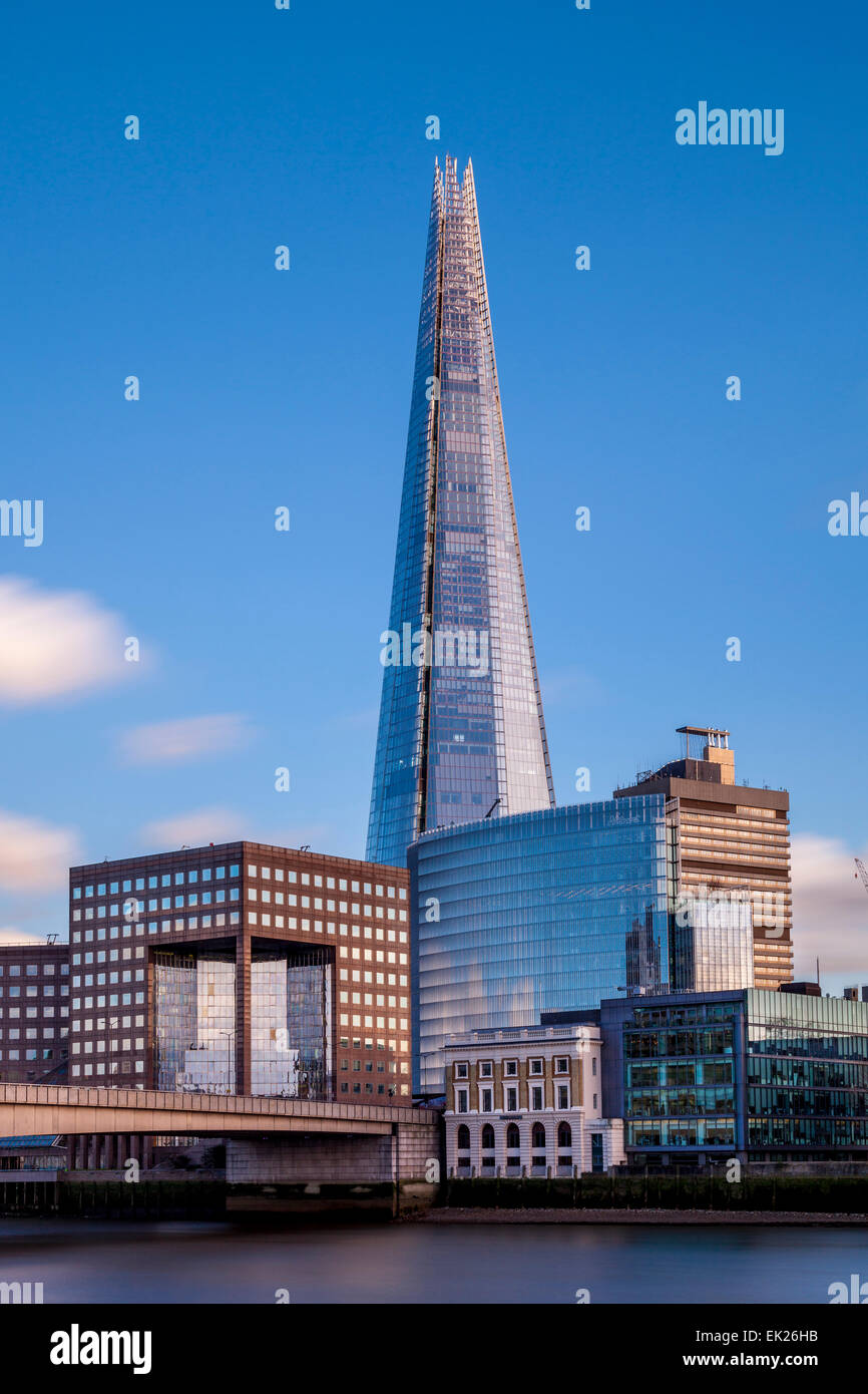 The Shard and London Bridge Quarter, London, England - Stock Image