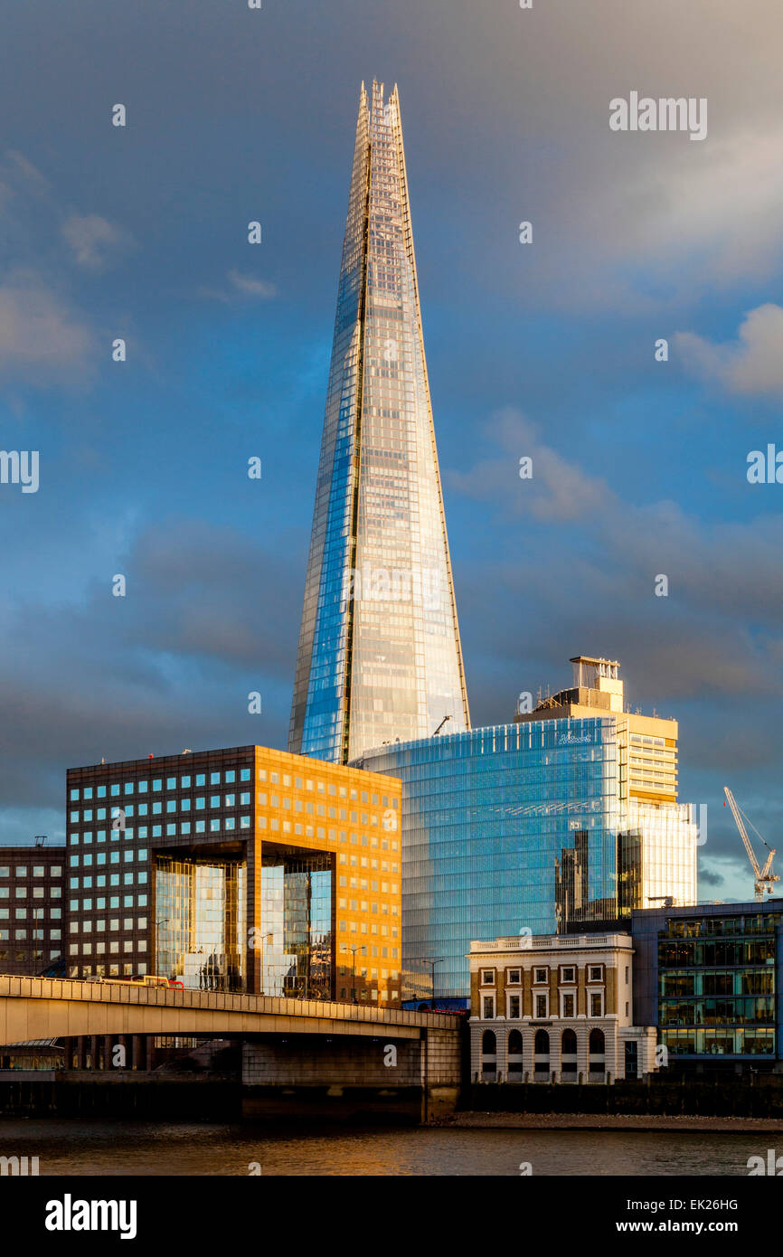 The Shard and London Bridge Quarter, London, England - Stock Image