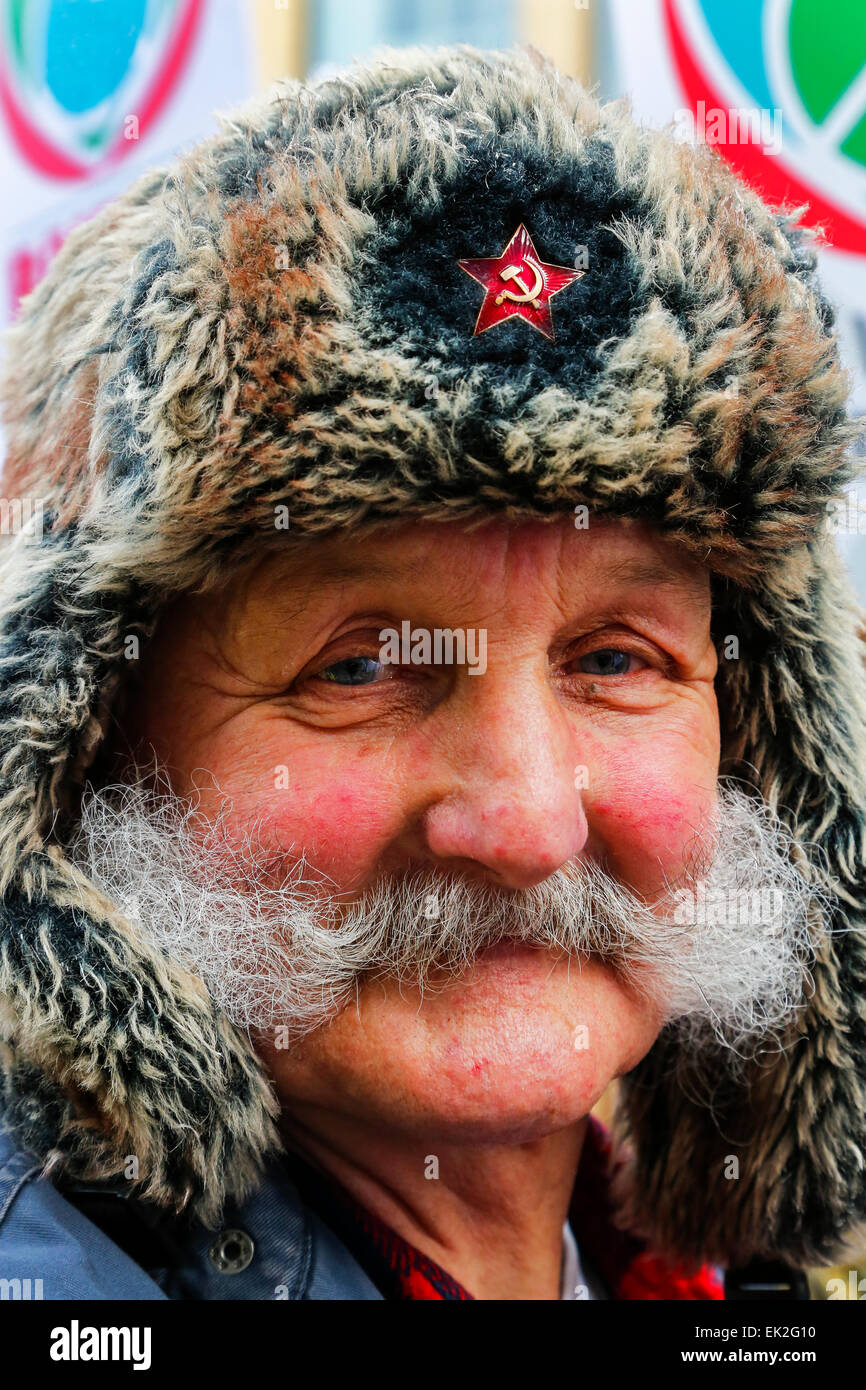 f60dcba29 Russian Fur Hat Stock Photos & Russian Fur Hat Stock Images - Alamy