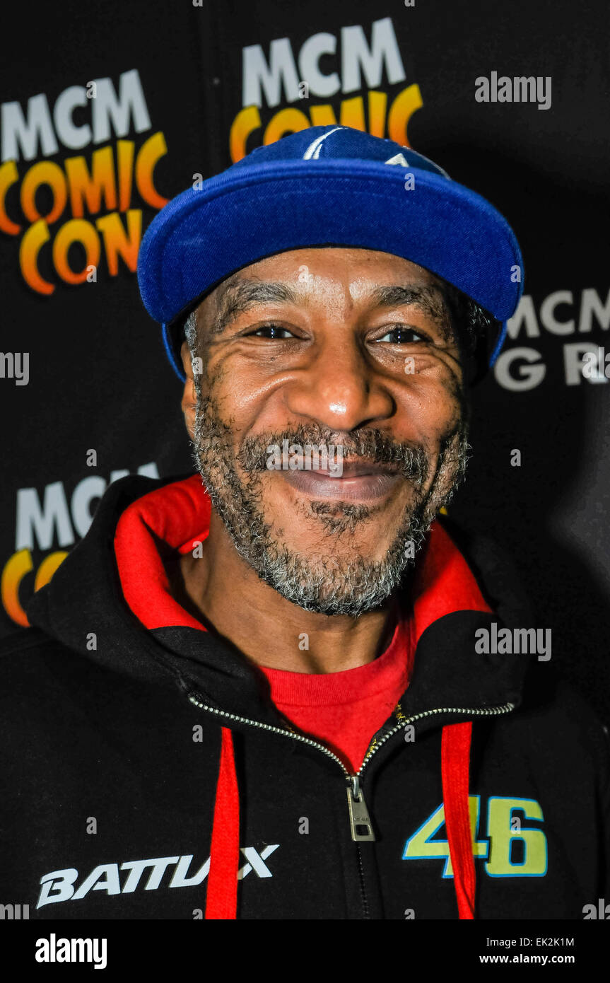 Dublin, Ireland. 13 Apr 2014 - Danny John Jules, most famous for playing 'Cat' in Red Dwarf, appears at - Stock Image