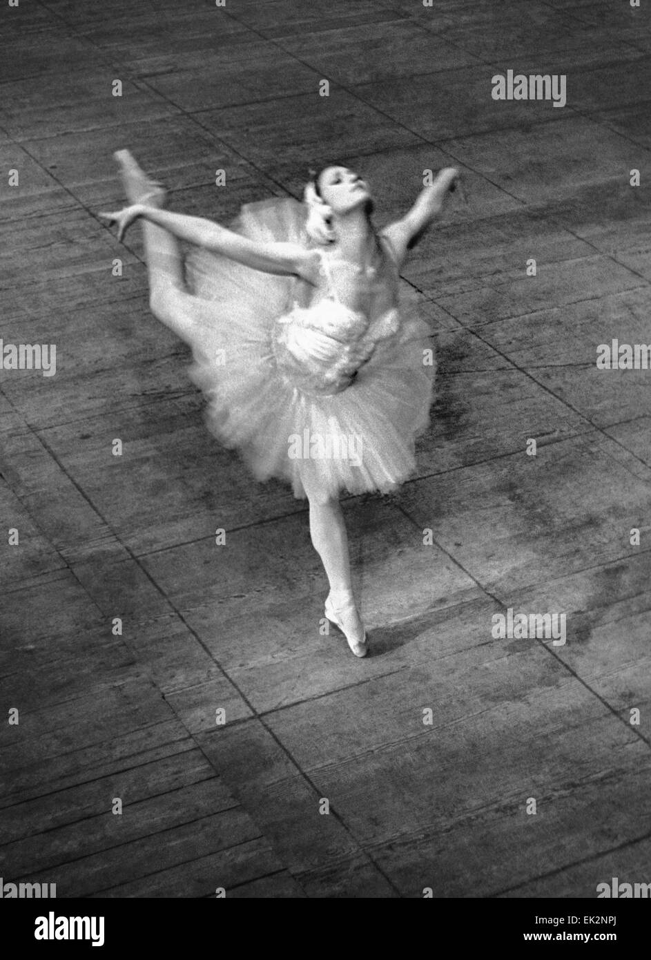 EGYPT. The State Academic Bolshoi Theatre of the USSR is on tour in Cairo. People's Artiste of the USSR Maya Plisetskaya - Stock Image