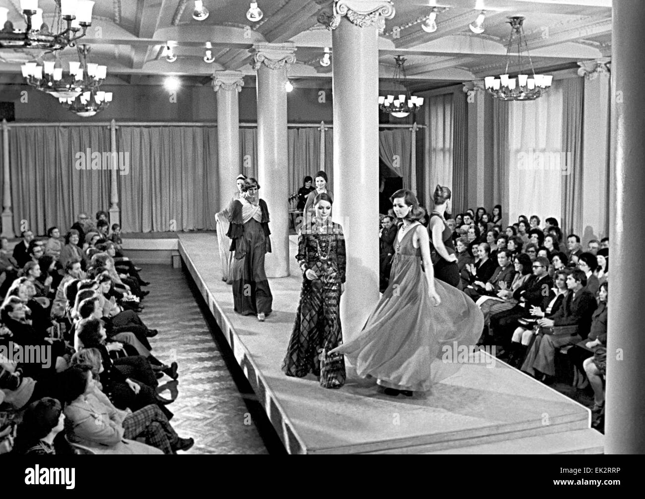 Moscow  The All-Union House of Models  Fashion and