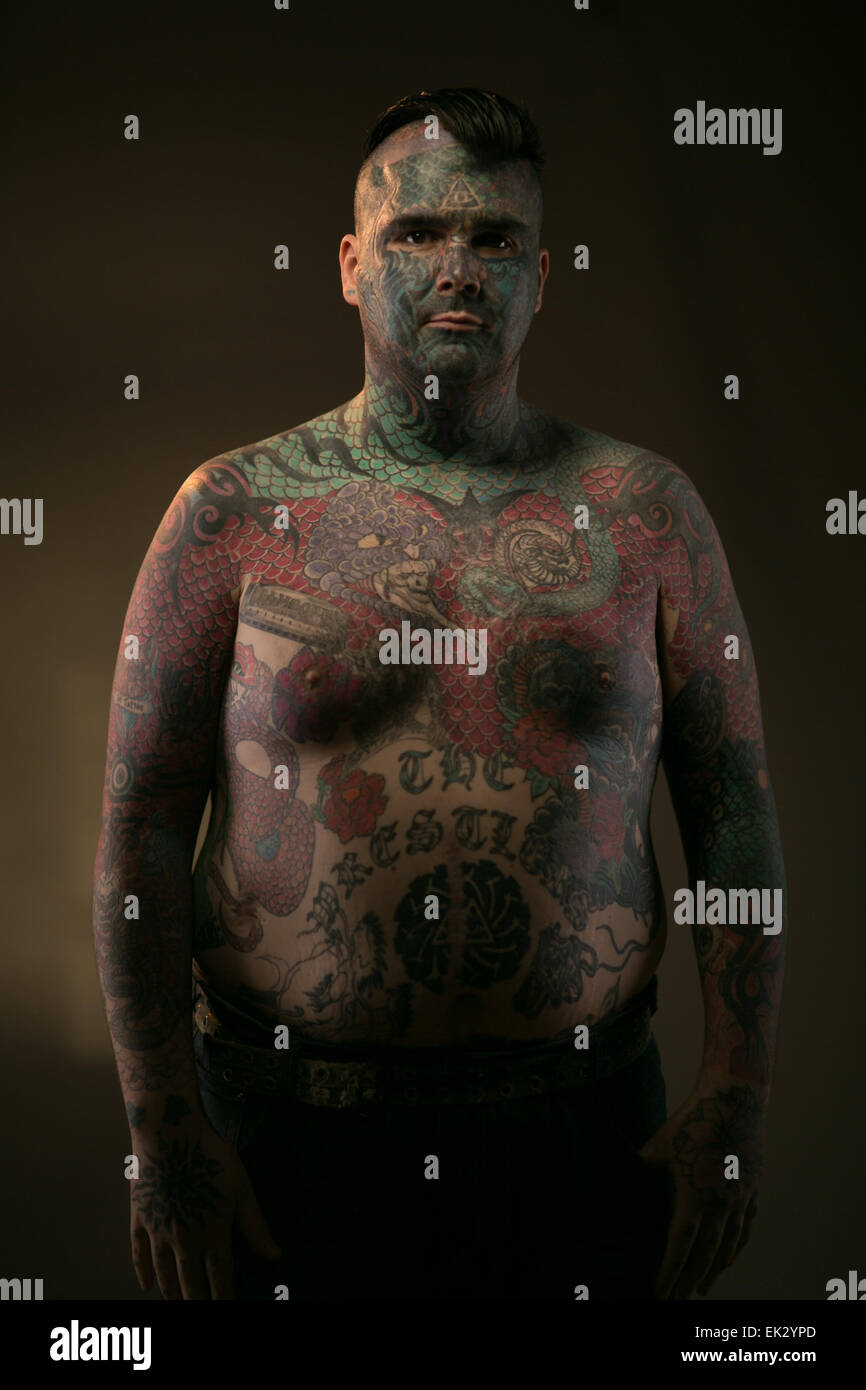 King Bodyart High Resolution Stock Photography And Images Alamy