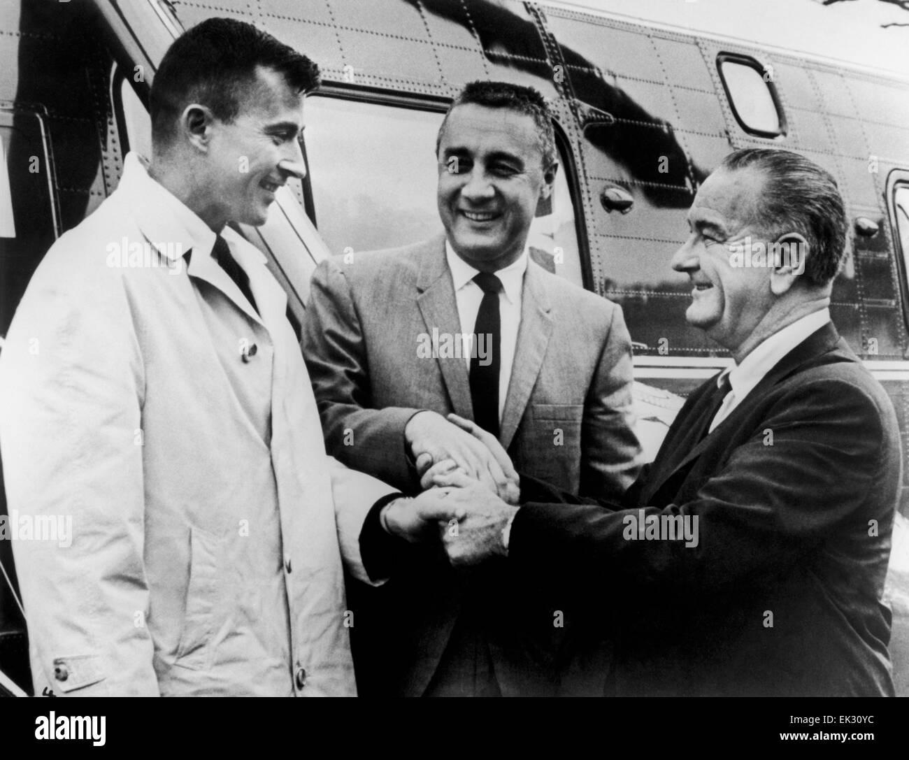 President Lyndon B Johnson Stock Photos President Lyndon B Johnson