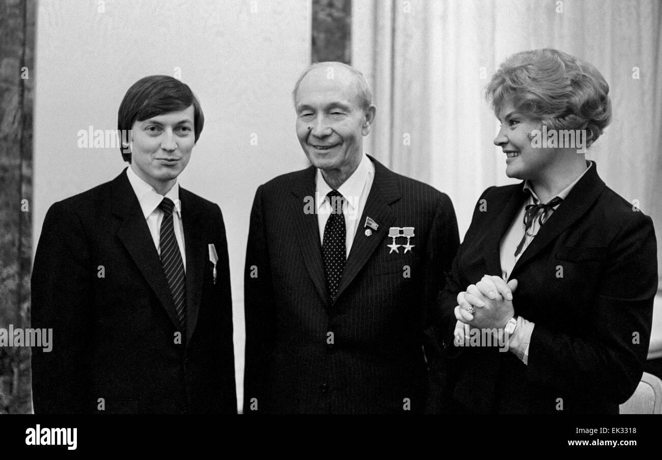 How Vasily Kuznetsov was the head of the USSR three times